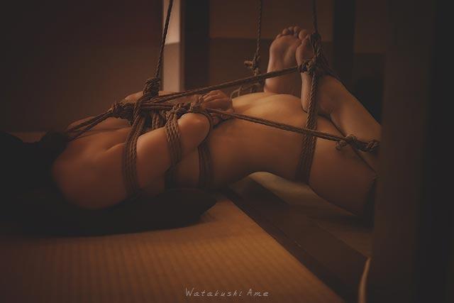 緊縛奴隷を2穴責め。生理で無理とか言うので壊してみる。