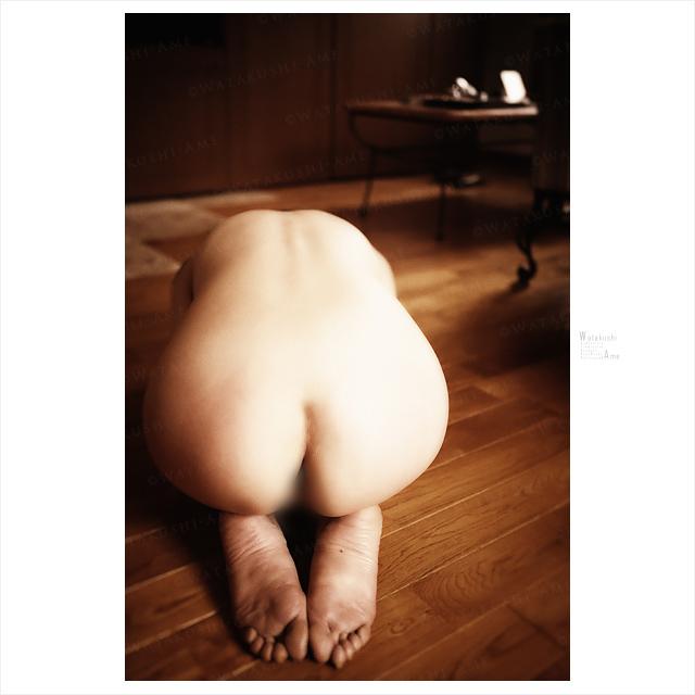 全裸で正座のM女。ラブホに入ったら土下座でSM調教の挨拶。 奴隷調教・主従調教
