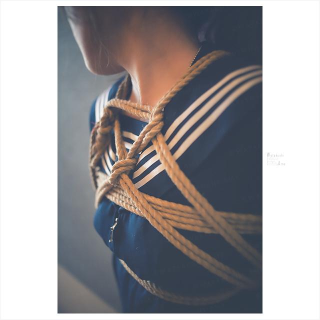 パイパン奴隷をセーラー服で緊縛 コスプレ調教・制服奴隷