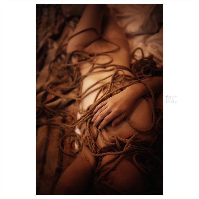 M女と緊縛。解いた後の麻縄で遊ぶ 緊縛奴隷・緊縛調教