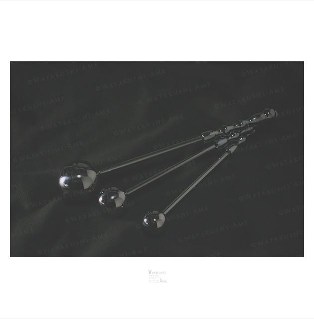 [アイテム紹介]金属製アナルスティック。ボールの付いたスティックでアナル調教 SMグッズ・調教グッズ紹介